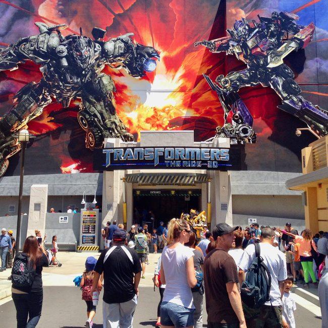 Transformers Attraction Designer